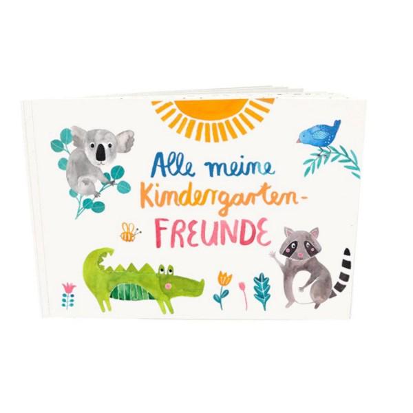 FRAU Ottilie Freundebuch Kindergarten