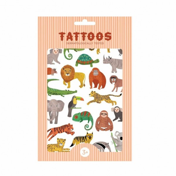 Petit Monkey Tattoos   Tiere Figuren Dschungeltiere