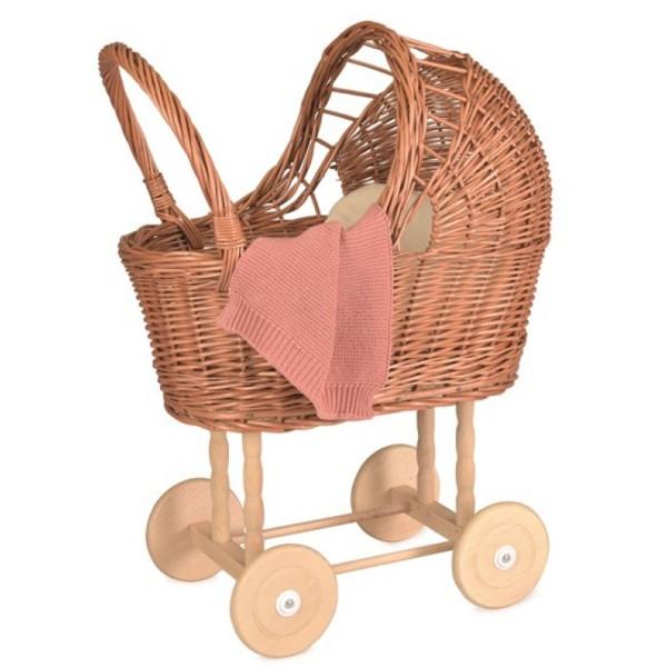 Egmont Toys Puppenwagen Korb mit Decke