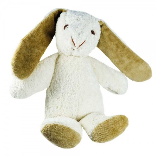"""Kallisto Hase   Spieluhr weiß """"Schlaf Kindchen"""" BIO"""