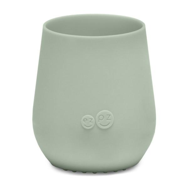 ezpz Tiny Cup Silikon Trinkbecher mandel grün