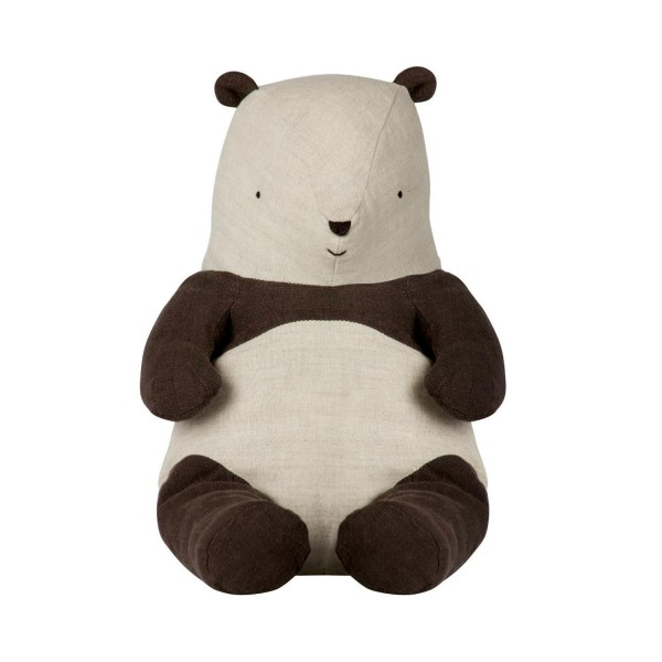 Maileg Kuscheltier Panda aus Leinen 54cm