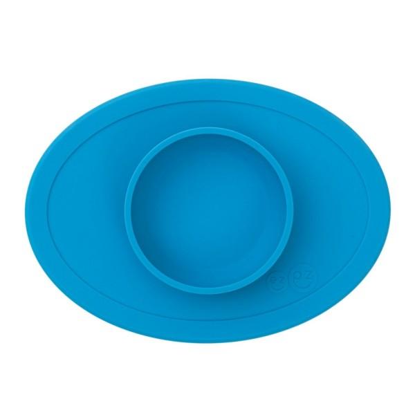 ezpz Tiny Bowl Silikon Platzmatte Teller blau