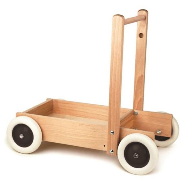 Egmont Toys Lauflernwagen Holz natur