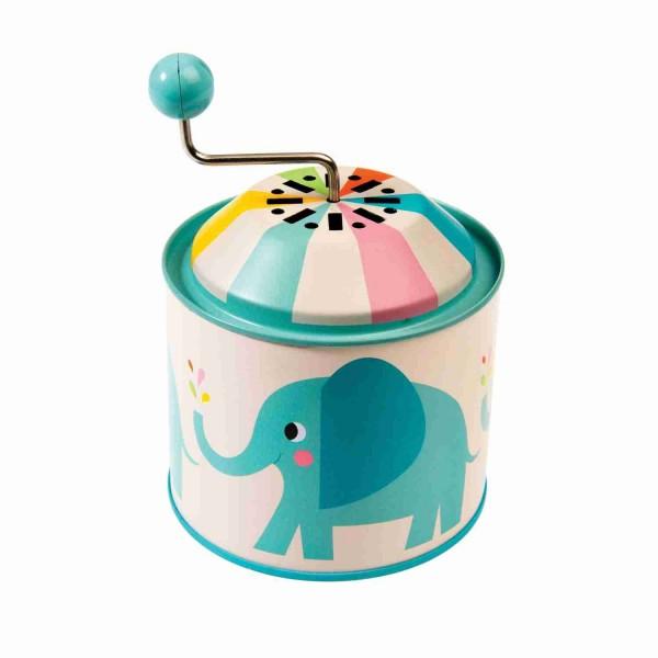 Rex Musikdose Metall Spieluhr Elefant Elvis