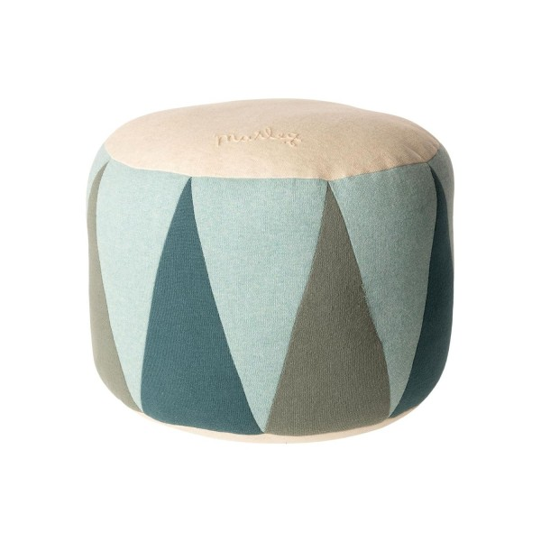 Maileg Puff Drum medium zum Sitzen blau 30cm