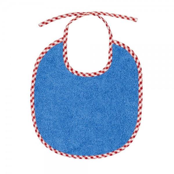Efie Lätzchen blau klein Vichy Borte kbA