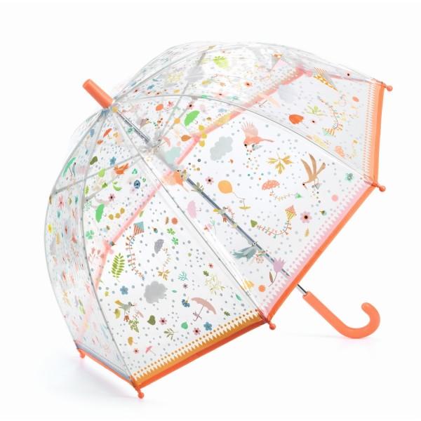 Djeco Regenschirm Kleine Freuden bunt