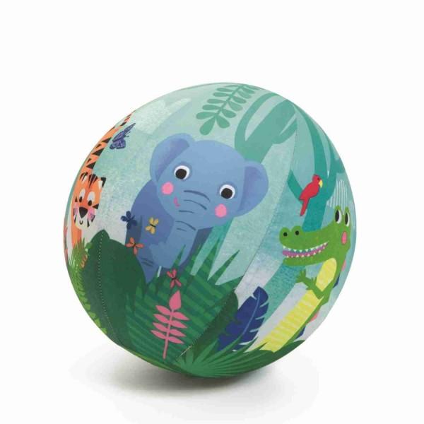 Djeco Ball Jungle Ballonhülle mit Luftballon