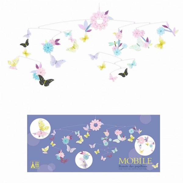 Djeco Mobile | Tanz der Schmetterlinge Papier FSC