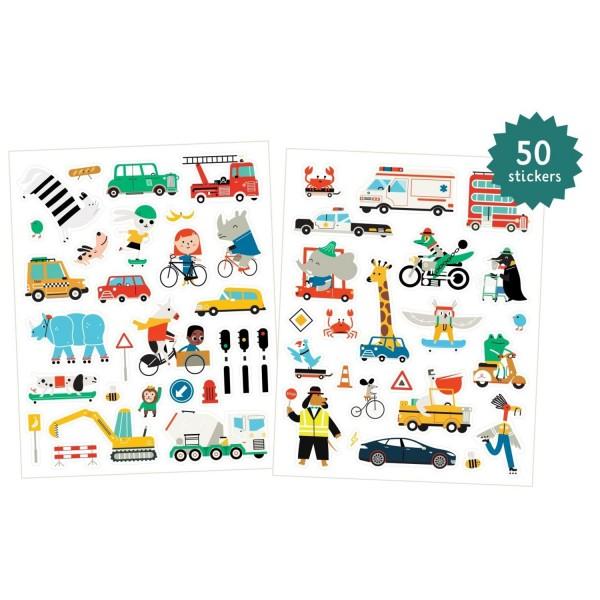 Makii Fensterbilder Fahrzeuge 50 Stück