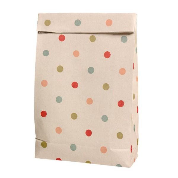 Maileg Geschenktüte Papier Punkte einzeln