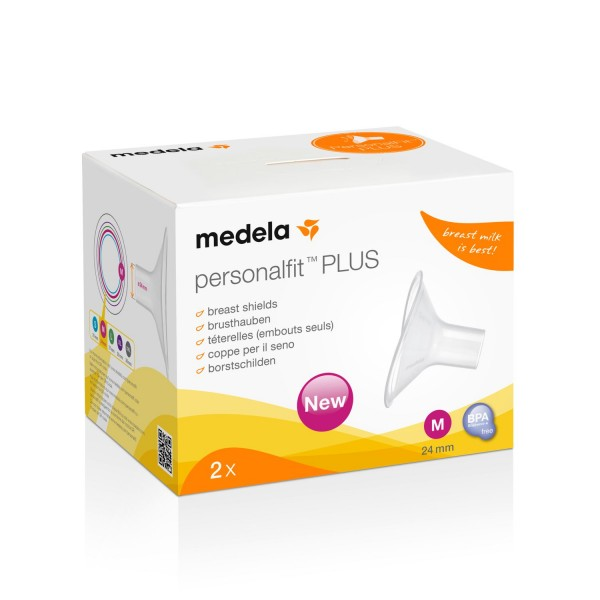 Medela PersonalFit PLUS Brusthaube M | 24mm 2er
