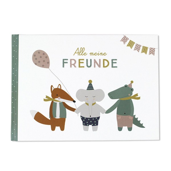 Ava and Yves Freundebuch Alle meine FREUNDE