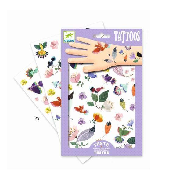 Djeco Tattoos In Flight Blumen