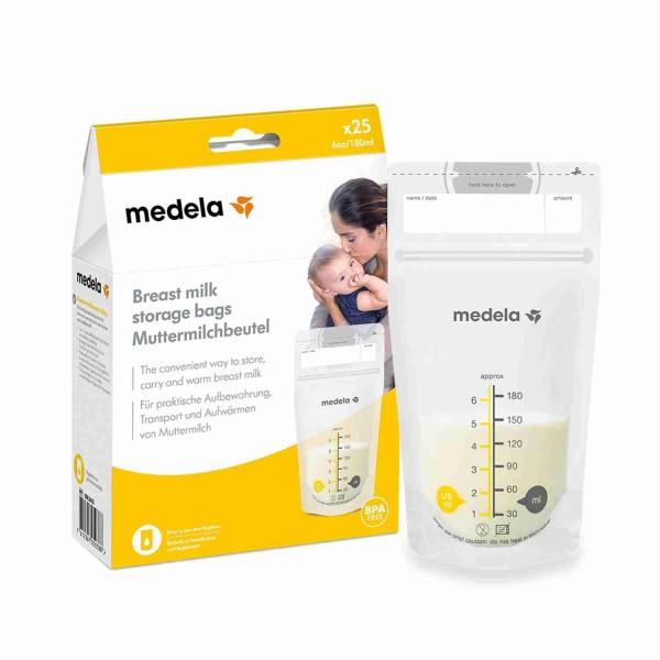 Medela Muttermilch Milchbeutel 25 Stück