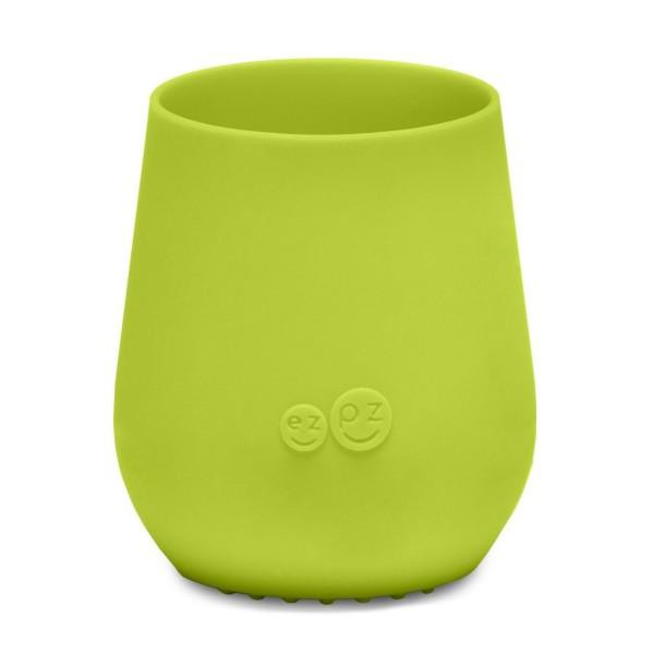 ezpz Tiny Cup Silikon Trinkbecher lime grün