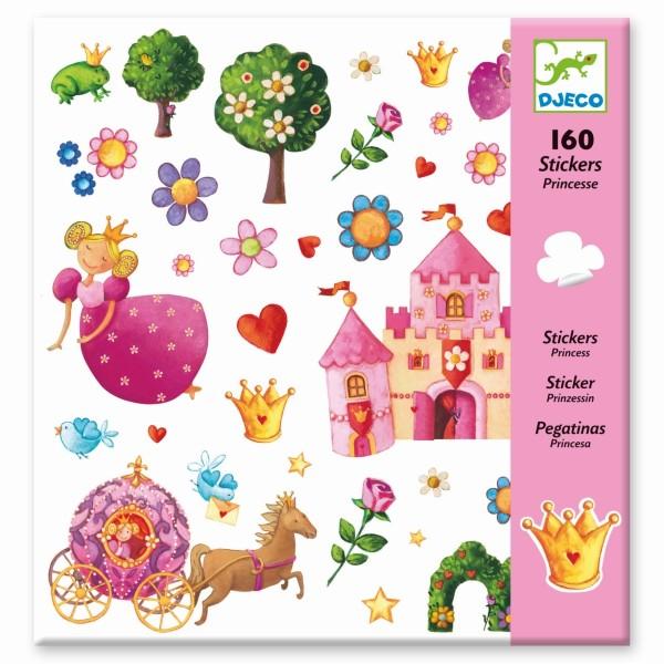 Djeco Sticker Princesse Marguerite 160 Stück