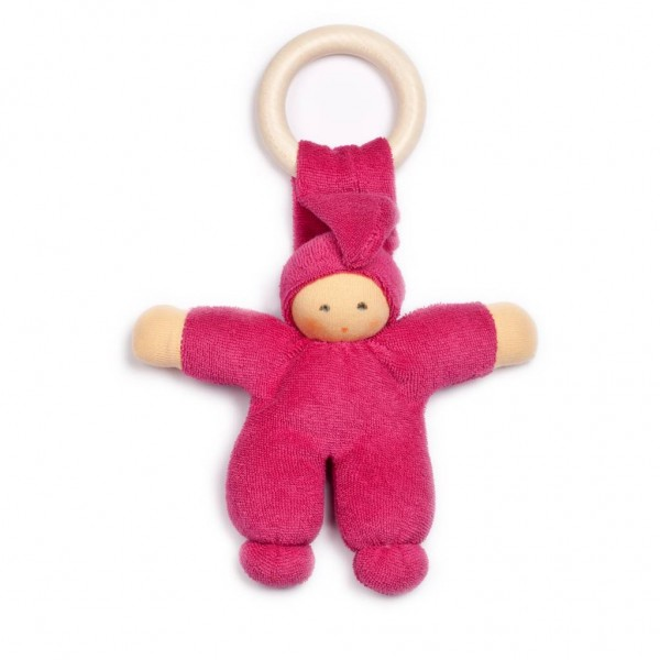 Nanchen Puppen Pimpel Holz Ring beere