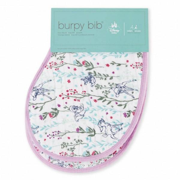 Aden + Anais Burpy Bib Lätzchen Disney rosa Bambi 2er