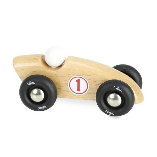 Vilac Mini Competition Car Rennauto Holz natur