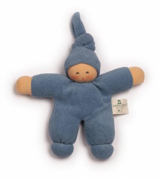 Nanchen Puppen Pimpel blau kbA