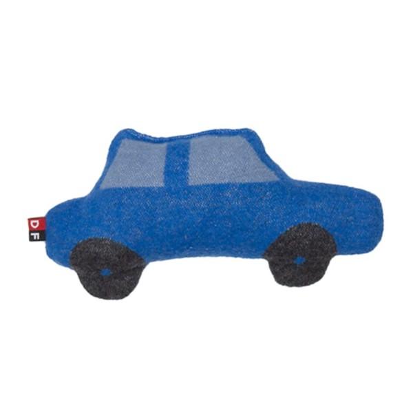 David Fussenegger Kissen Auto blau