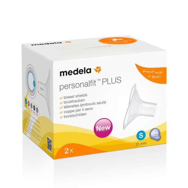 Medela PersonalFit PLUS Brusthaube S | 21mm 2er