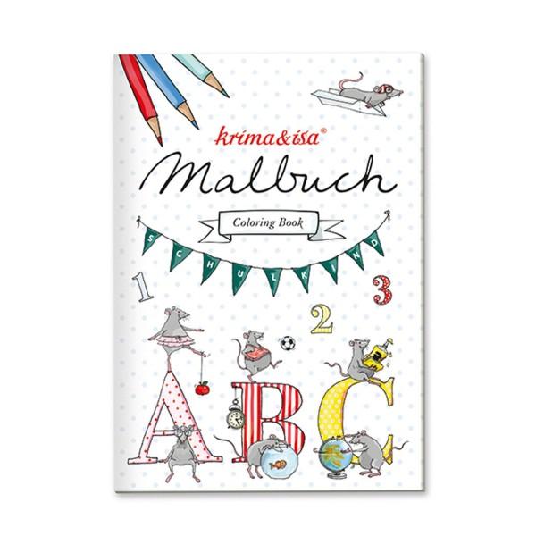 KRIMA & ISA Malbuch Schule A5