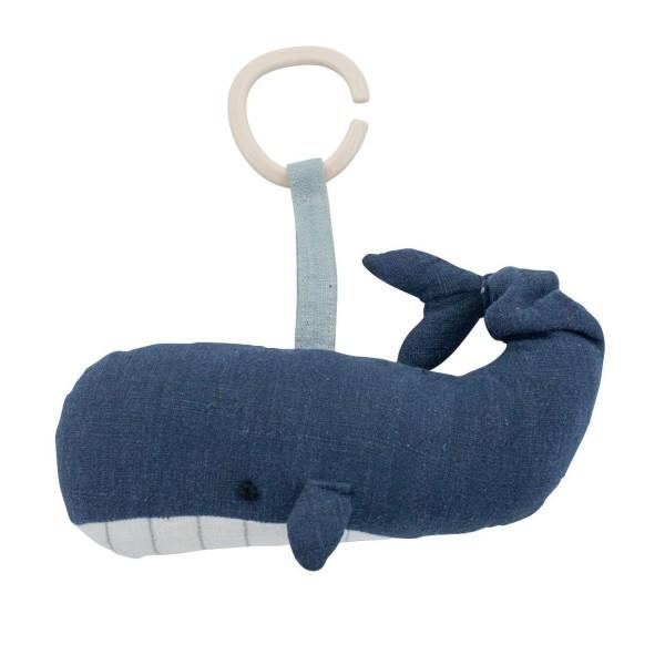 Sebra Spieluhr Wal Marion Ocean Blau