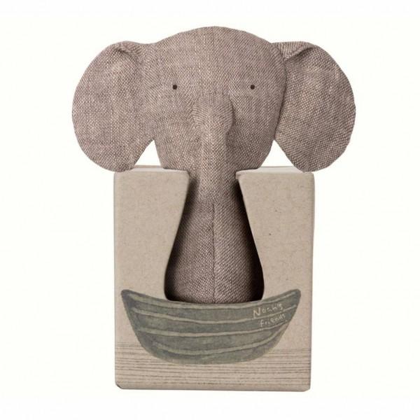 Maileg Elefant Rassel Knisterohren Mini Noah´s Friends