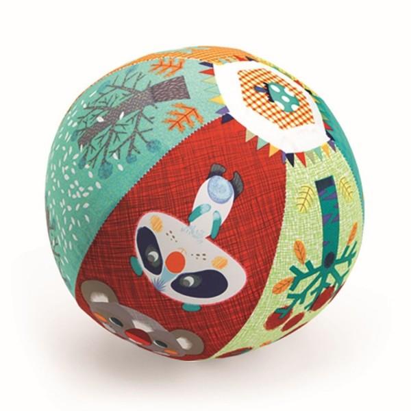 Djeco Ball Wald Ballonhülle mit Luftballon