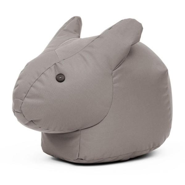 HAPPY ZOO Hase grau Sitzkissen Bunny