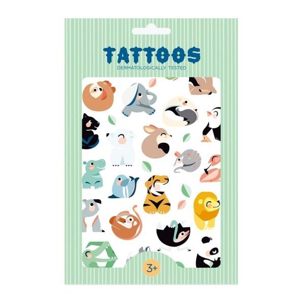 Petit Monkey Tattoos | Wilde Tiere