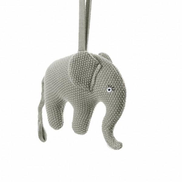 """Smallstuff Spieluhr Elefant grau """"Guten Abend..."""""""