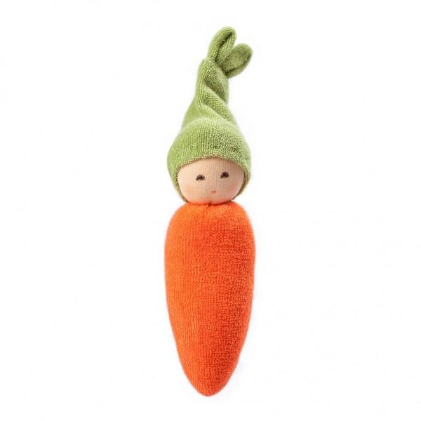 Nanchen Puppen Greifling Möhrchen orange