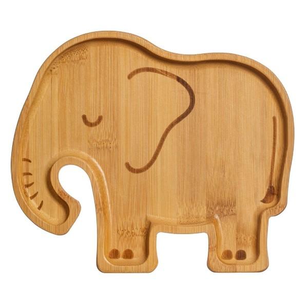 Sass and Belle Bambus Teller Elefant
