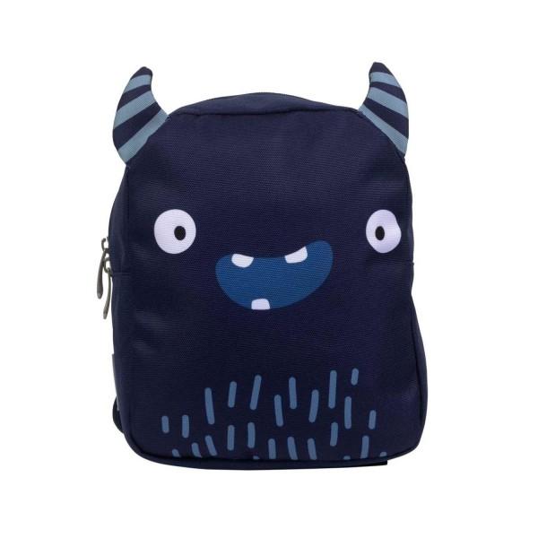 A Little Lovely Company Rucksack Monster blau